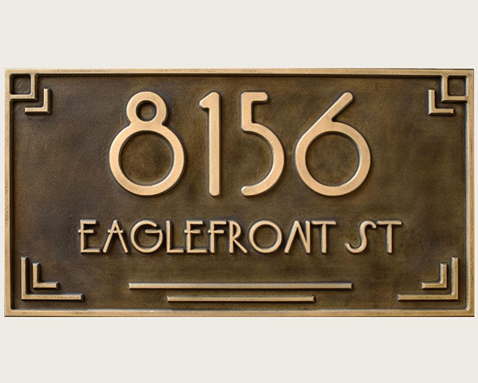 eaglefront plaque